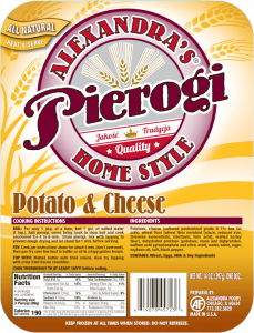 ptotato cheese pierogi